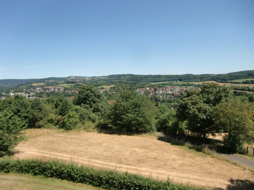 Überblick über den Vogelsberg – Berg, welcher Berg? (Foto: Volker Duda)