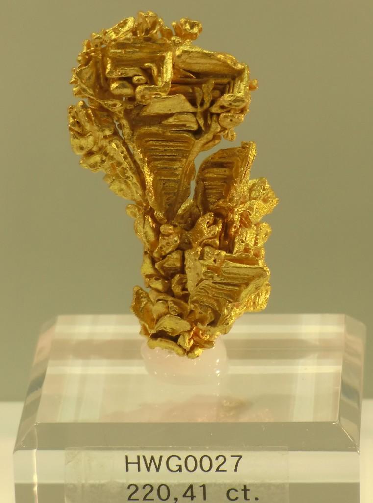 kristallines Gold