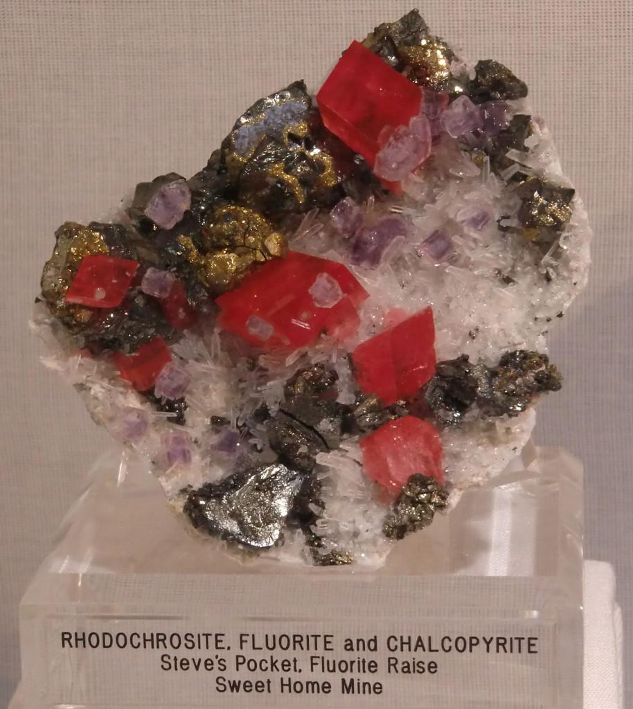 Rhodochrositparagenese
