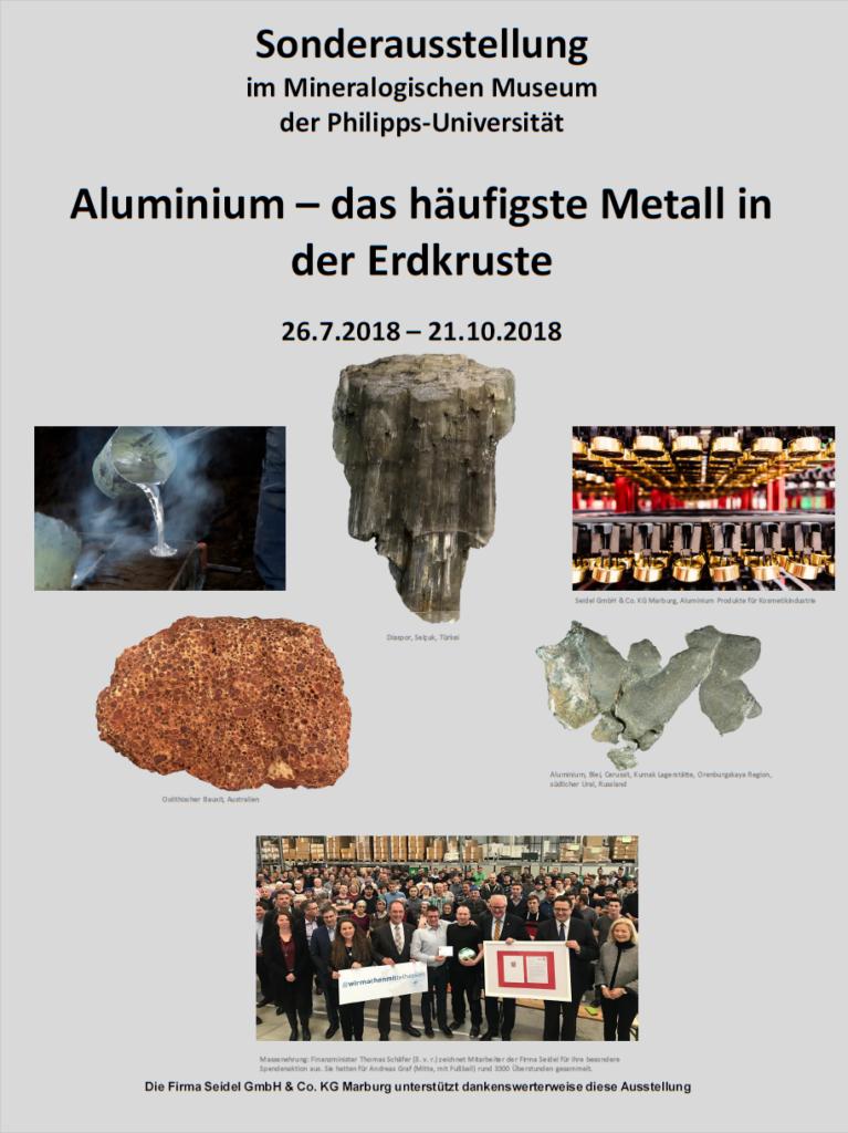 Aluminium, das häufigste Metall in der Erdkruste