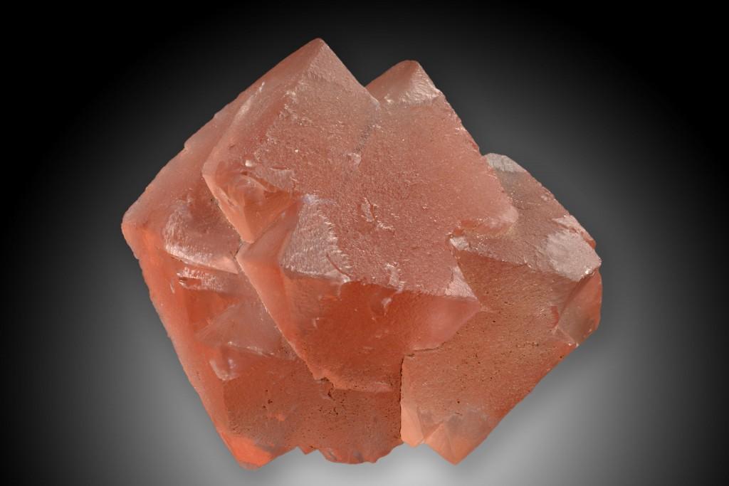 """Fluorit Oktaeder. Göschener Tal in der Schweiz (Vorlage für R. Brauns """"Das Mineralreich"""" Tafel 71, Abb. 3)"""