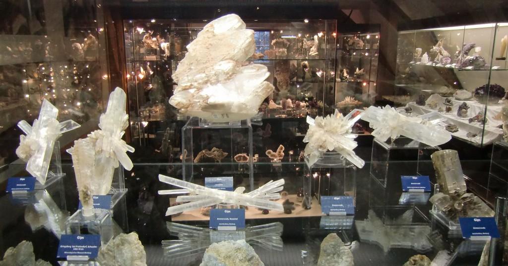 Gipskristalle aus Hessen
