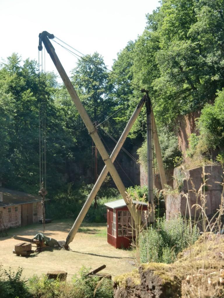 Holz-Derrick-Kran (Foto: Volker Duda)