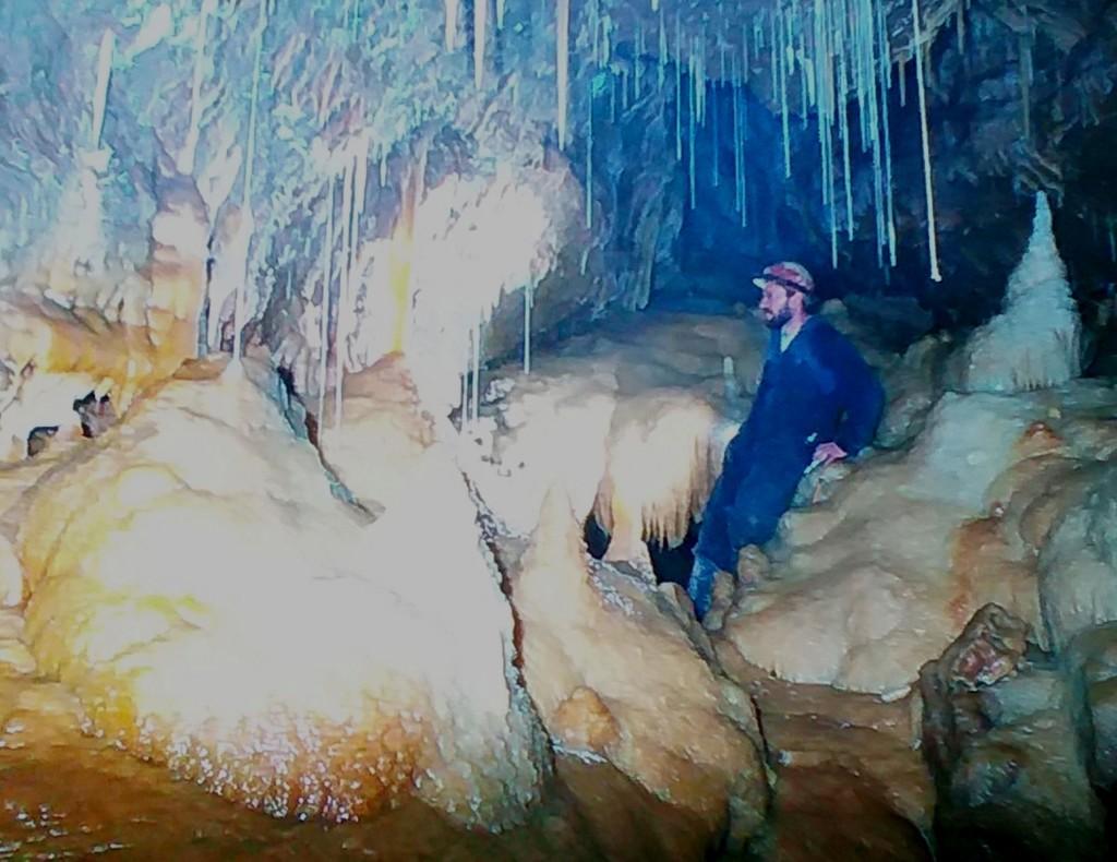 Impressionen aus der Bleßberghöhle