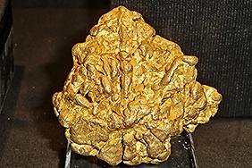 8 cm großes Nugget aus New South Wales, Australien