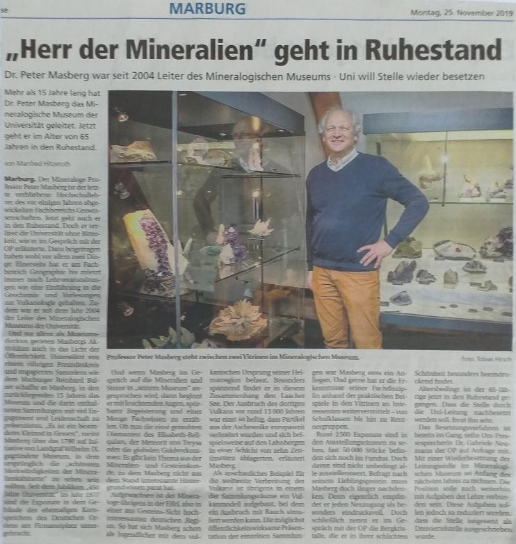 Zeitungsartikel Oberhessische Presse